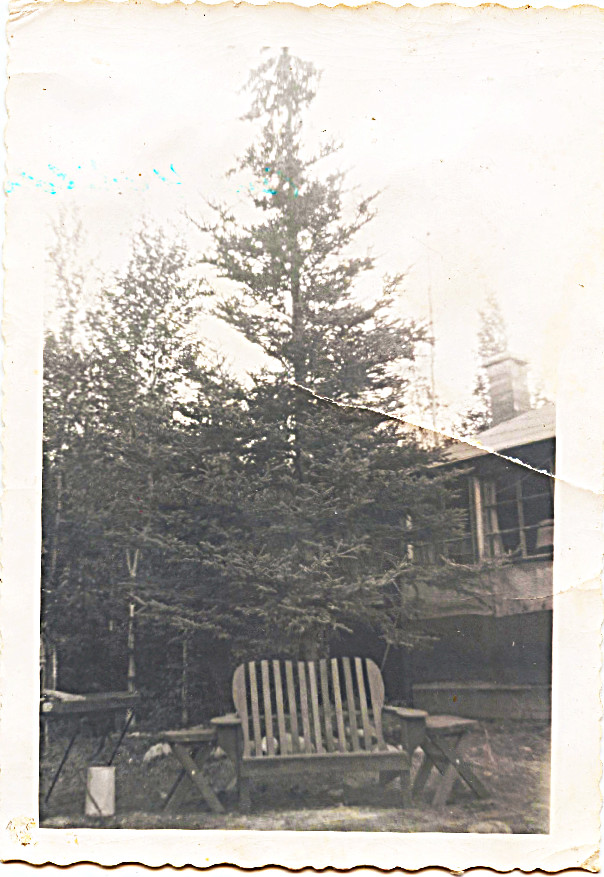 1958 Summer Bockstahler's Cabin -- living here at least in August of 1958 when I turned 7 - only one of two birthdays I remember