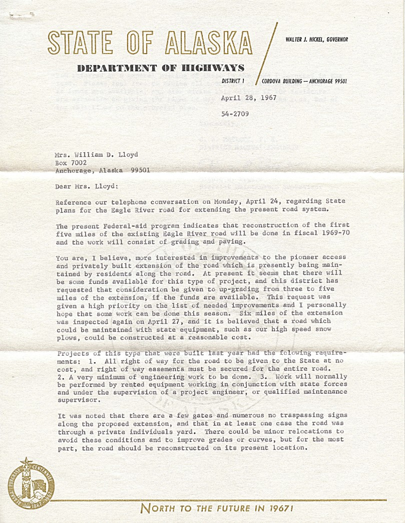 1 1967 state hwy letter