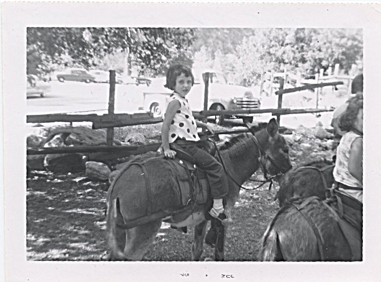 June 1957 - I was 5 - Dad was already in Alaska, we were waiting to join him -
