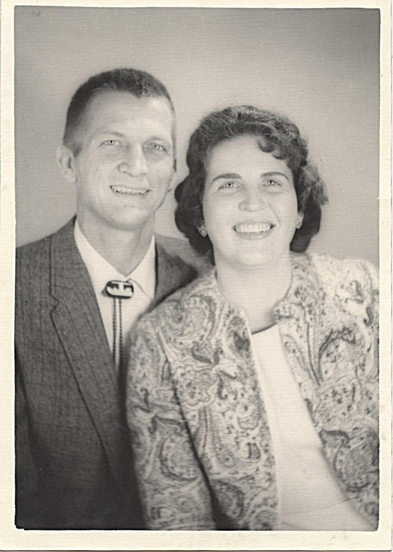 1963 - June 11 - my parents' 14th anniversary.  William (Bill) Dennison Lloyd, Mildred Ann Cahill Lloyd