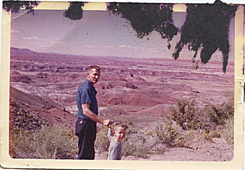 1963 dad dave grand canyon -- probably October