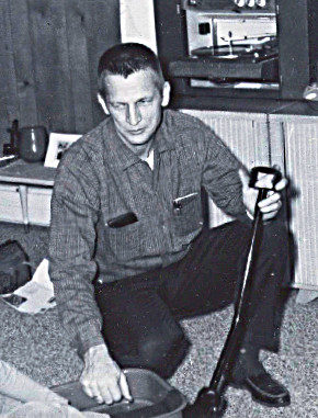 1965-1966 Dad in house