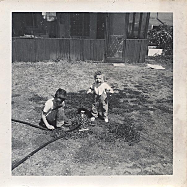 1966 Steve and Dave - Steve's first steps - Tucson