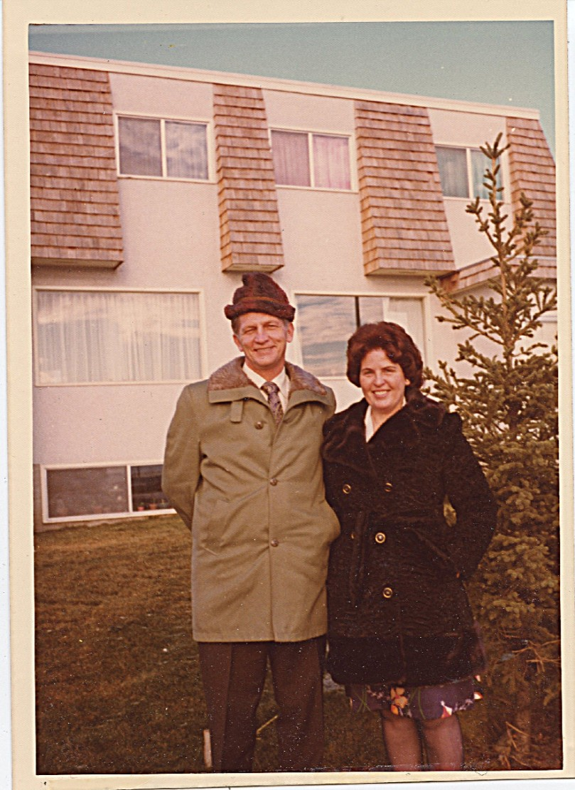 Not sure date for this photo of Dad and Mom Lloyd - circa 1968?