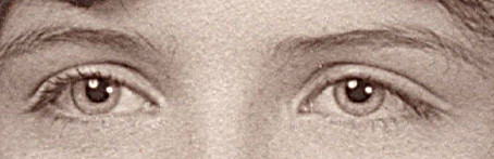 1969 closeup of my eyes - age 17, senior high school picture