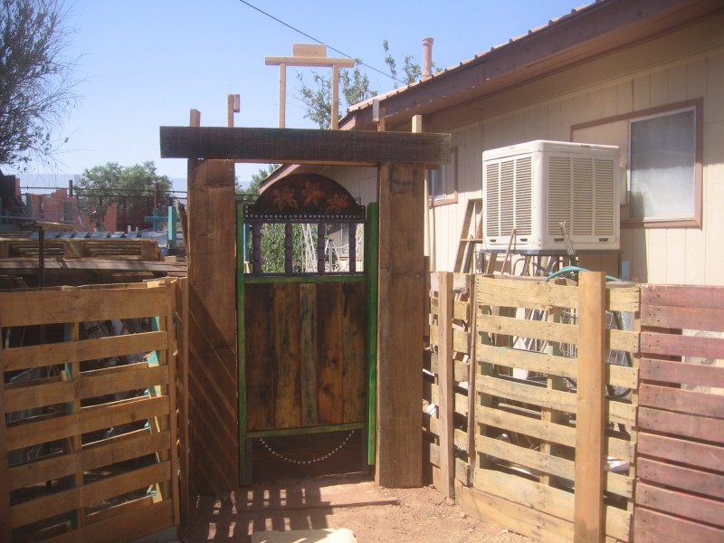 build how to make a garden gate plans diy jet wood lathe, Garden idea