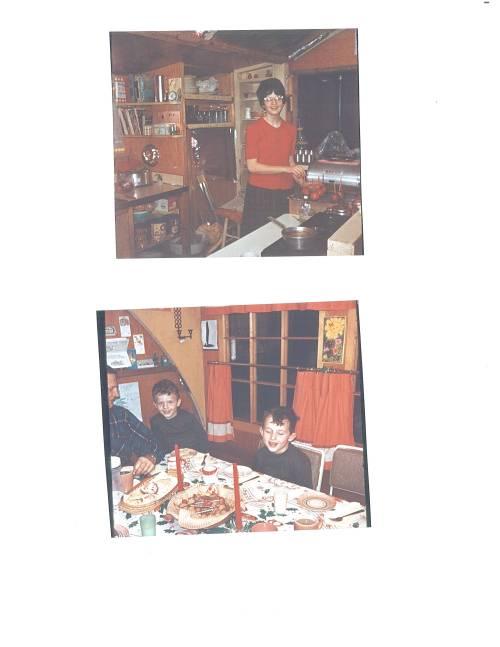 2 pics me in kitchen